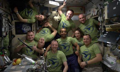 9 αστροναύτες ISS. Πηγή: ESA - Luca Parmitano